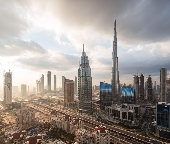 Dubai winter mornings