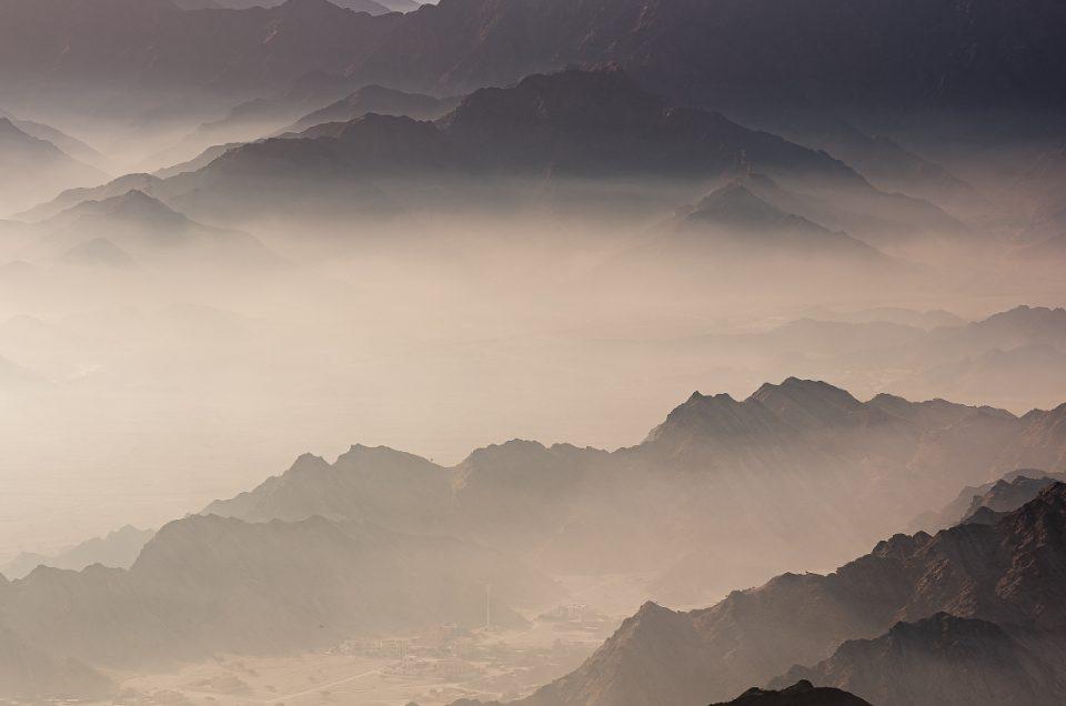 Mountains above Dibba