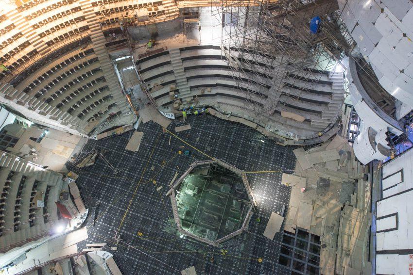 La Perle - during construction